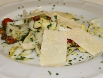 Trattoria Mollie Apple Endive Salad