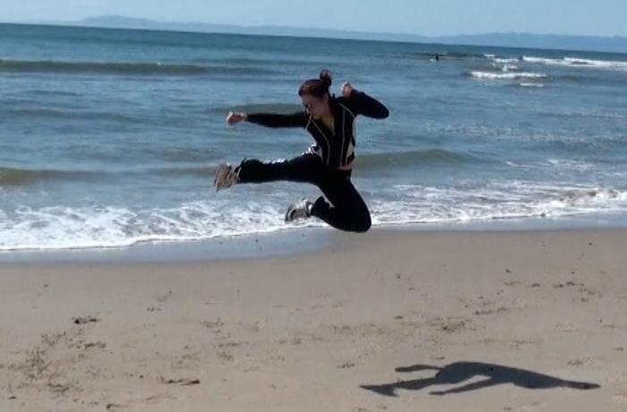 Karate Jump Kick