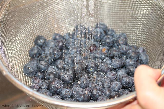 wash blueberry
