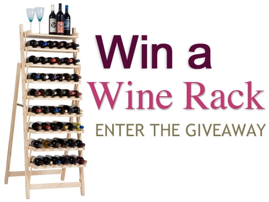 Wine Rack Win Giveaway