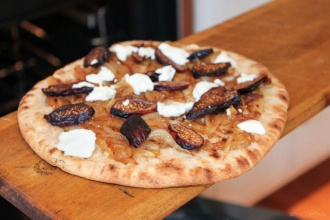 Flatbread Caramelized Onions Figs
