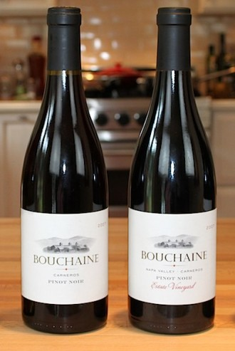 Bouchain Pinot Noirs