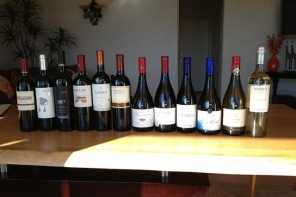 Wines of Chile bottles