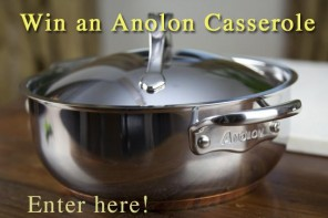 Analon Casserole pot Giveaway