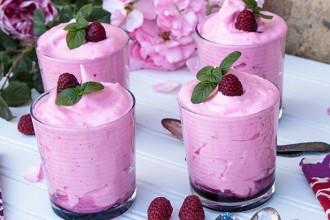 Dessert Raspberry Mousse