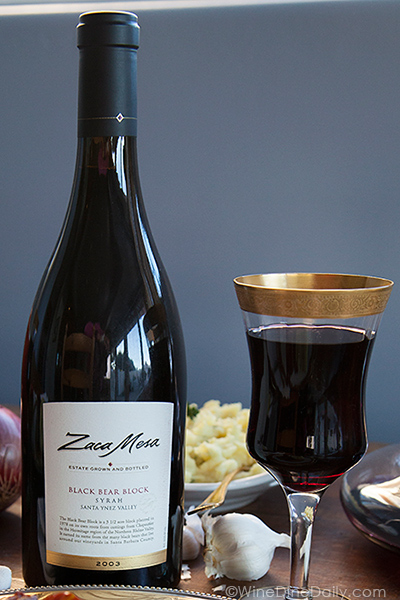 Zaca Mesa Black Bear Block Syrah