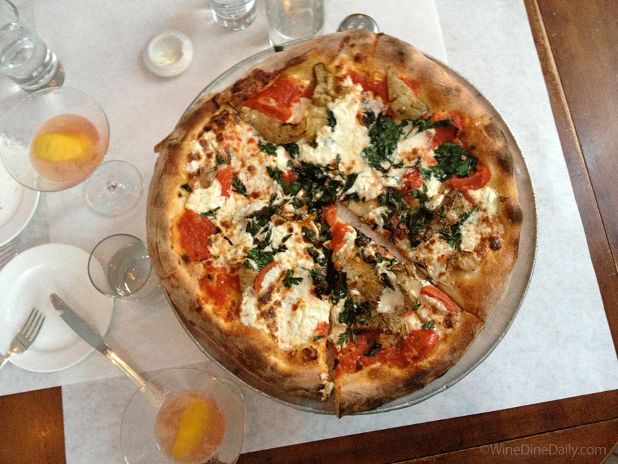 Bottega Louie Artichoke Pizza