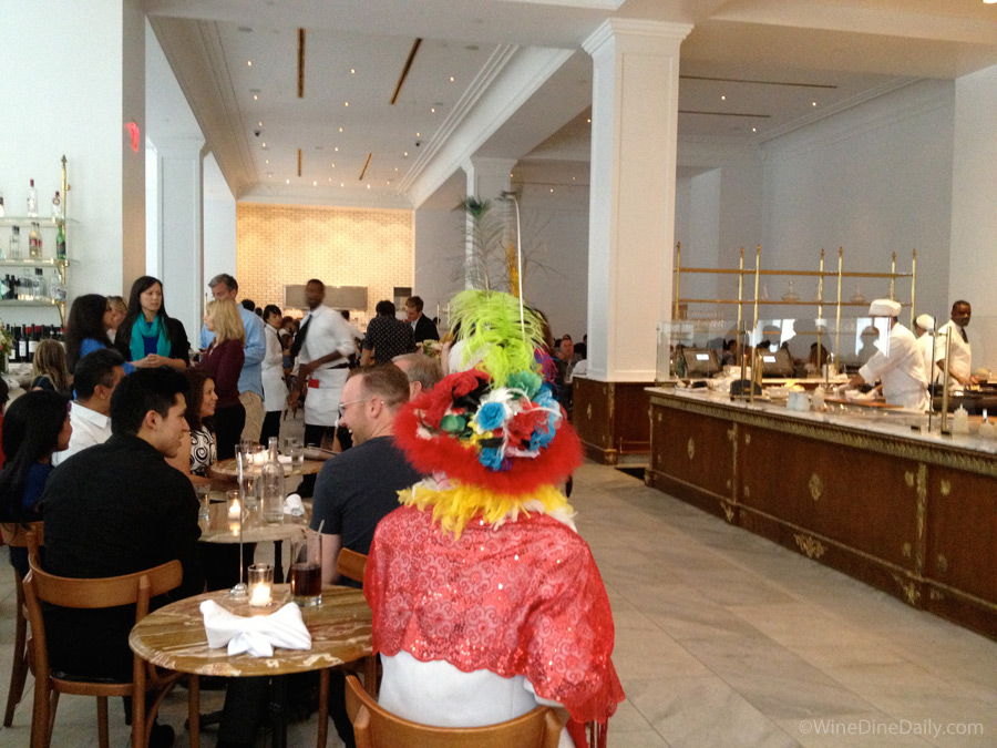 Bottega Louie inside