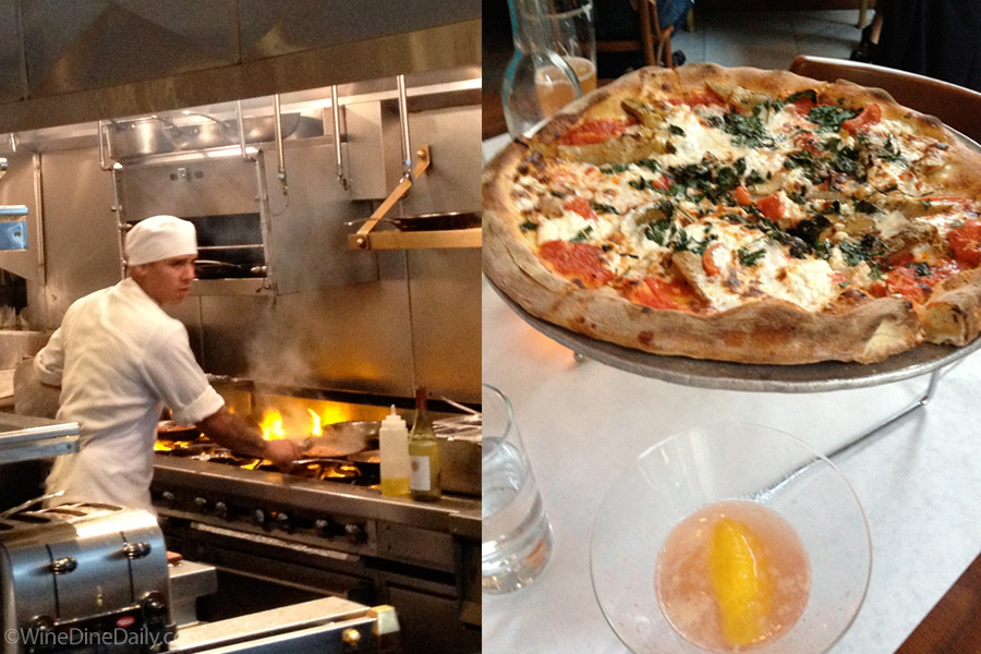 Bottega Louie in Los Angeles Pizza Kitchen