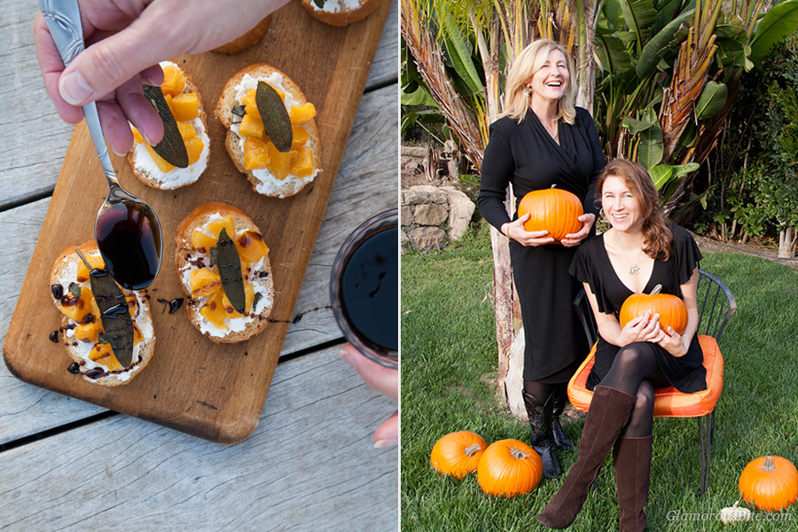 Pumpkin Crostini Judit Corina