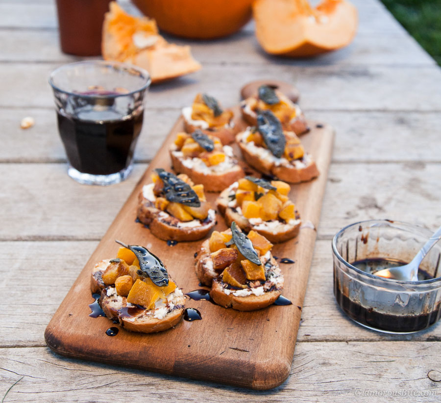 Pumpkin Crostini Recipe