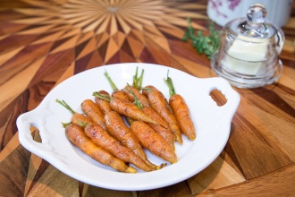 Brown Butter Baby Carrots
