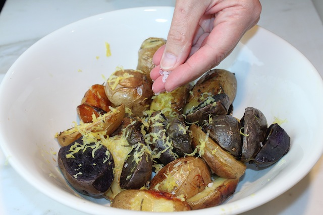 Colored Potatoes