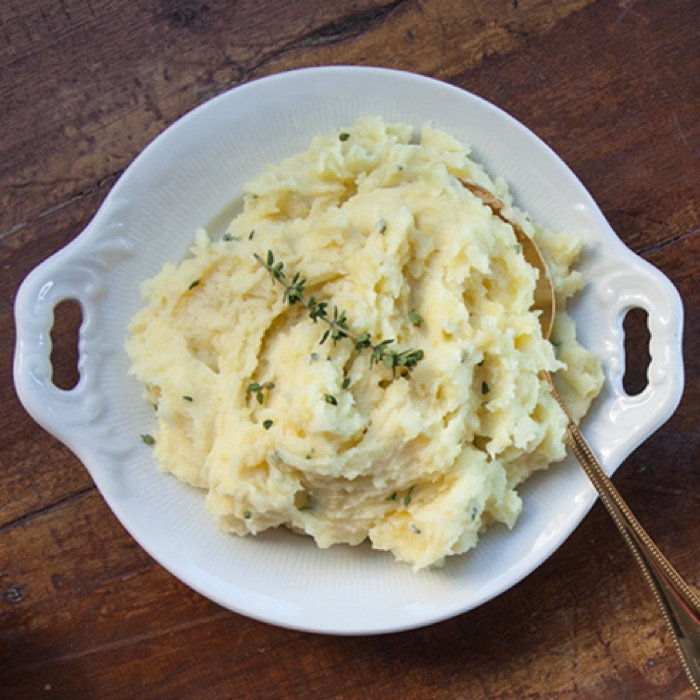 Mashed Potatoes Goat Cheese