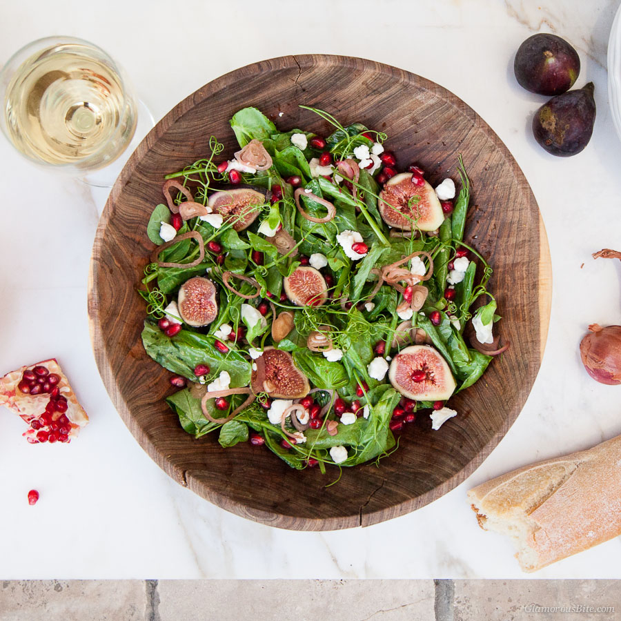 Pea Tendril Salad Fig recipe