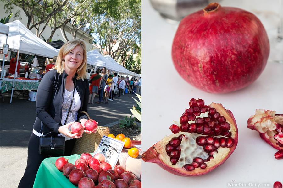 Pomegranate Market Judit