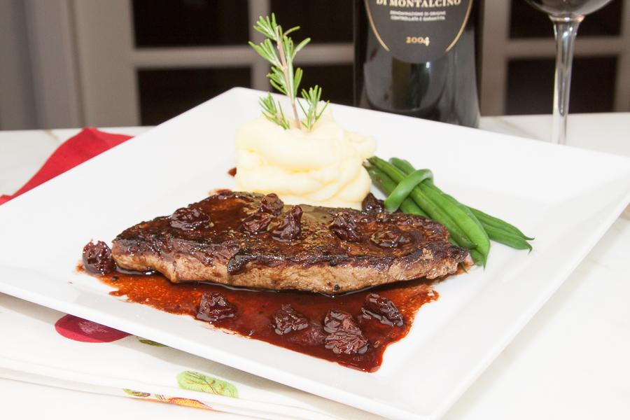 New York steak Recipe