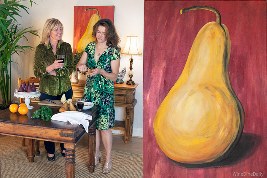 Pear Painting Corina