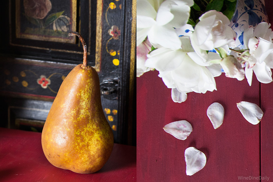 Pear Roses