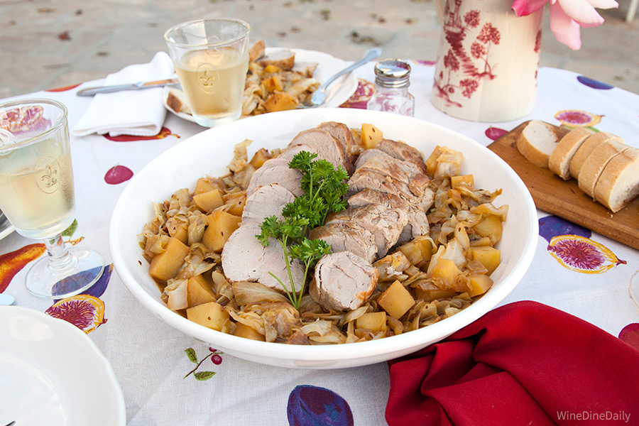 Pork Cabbage Dish