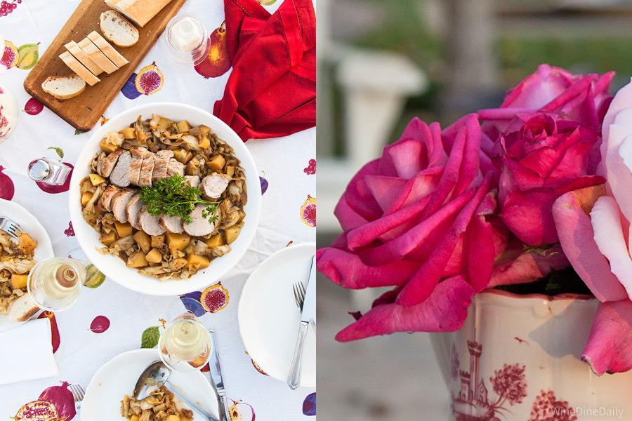 Pork Cabbage Roses