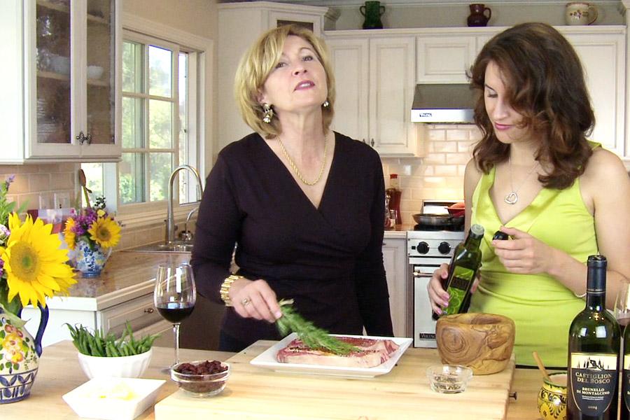 Steak Cooking Rosemary Judit