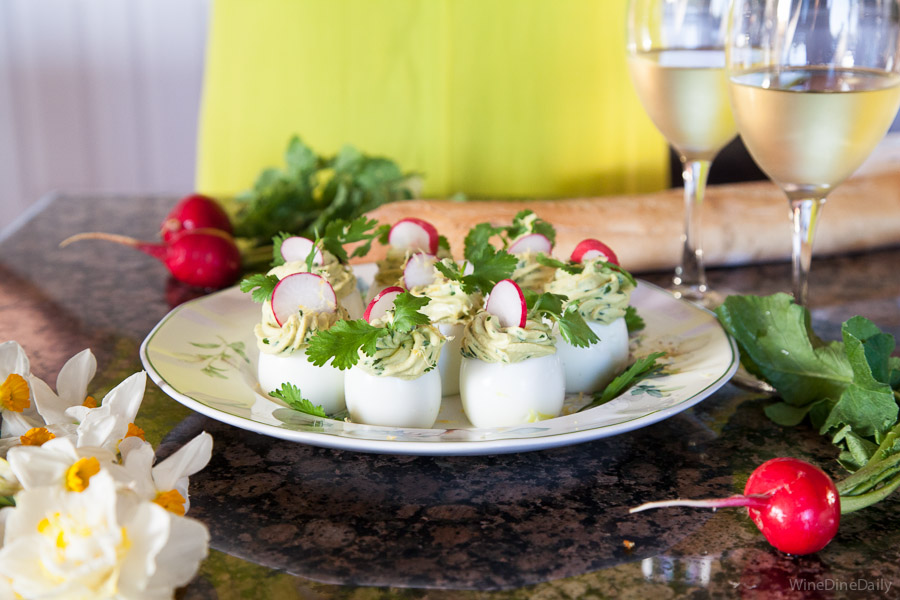 Avocado Deviled Eggs Gluten-Free