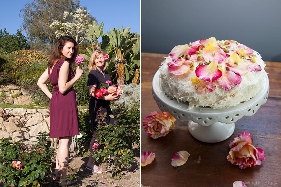 Coconut Cake Roses Corina Judit WineDineDaily