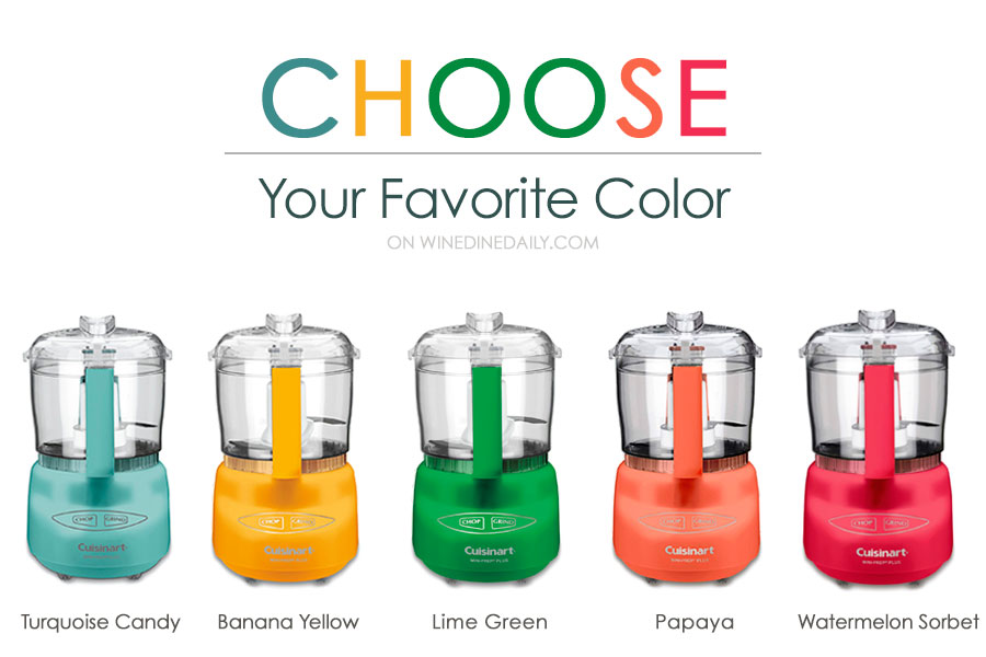 Cuisinart Mini Food Processor Colors
