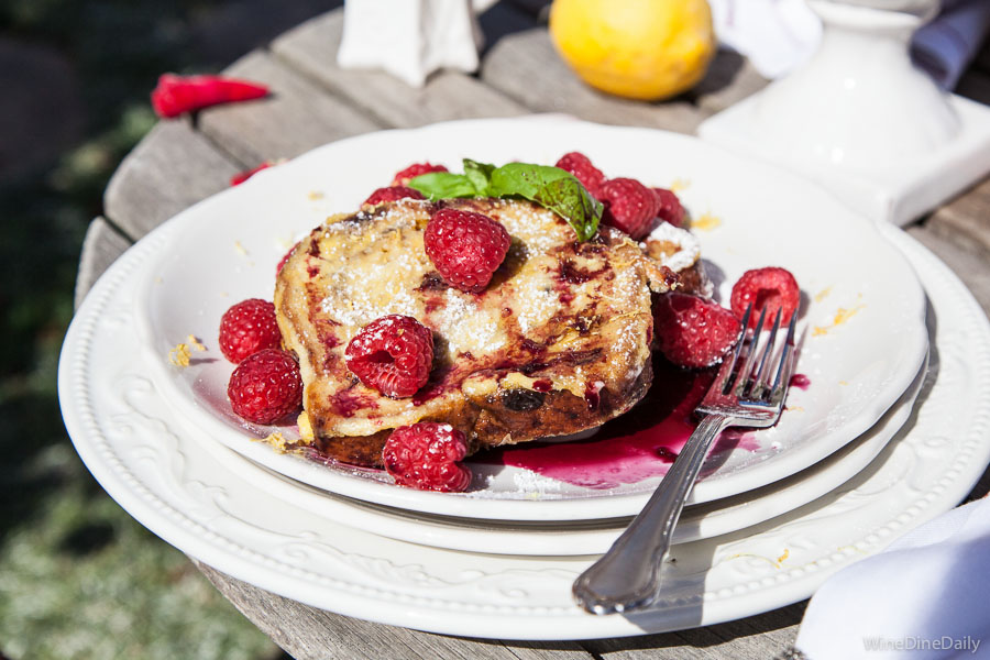 French Toast Raspberries Recipe