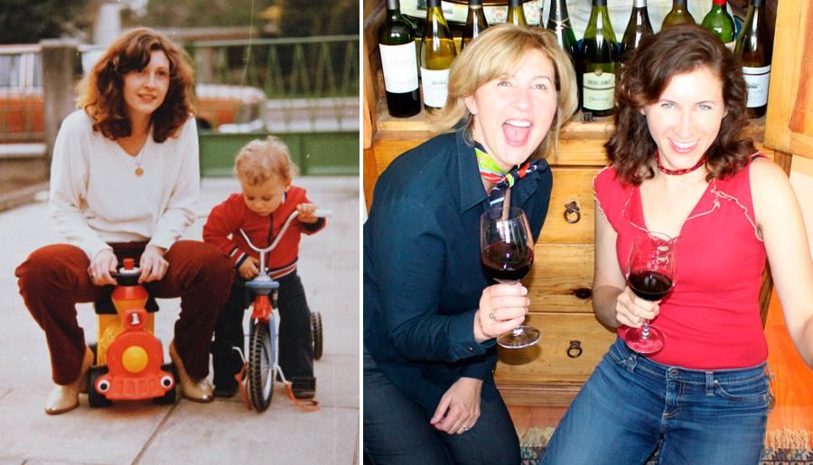 Judit Corina Then Now