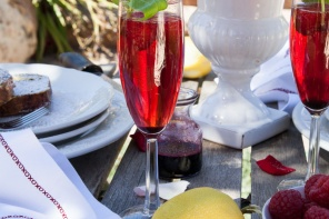 Pinot Royal Champagne Cocktail