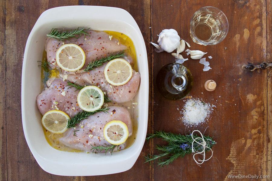 Raw Chicken Ingredients