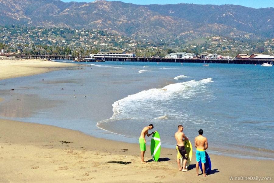 Santa Barbara Beach Surf
