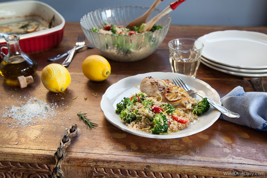 Couscous Lemon chicken Recipe