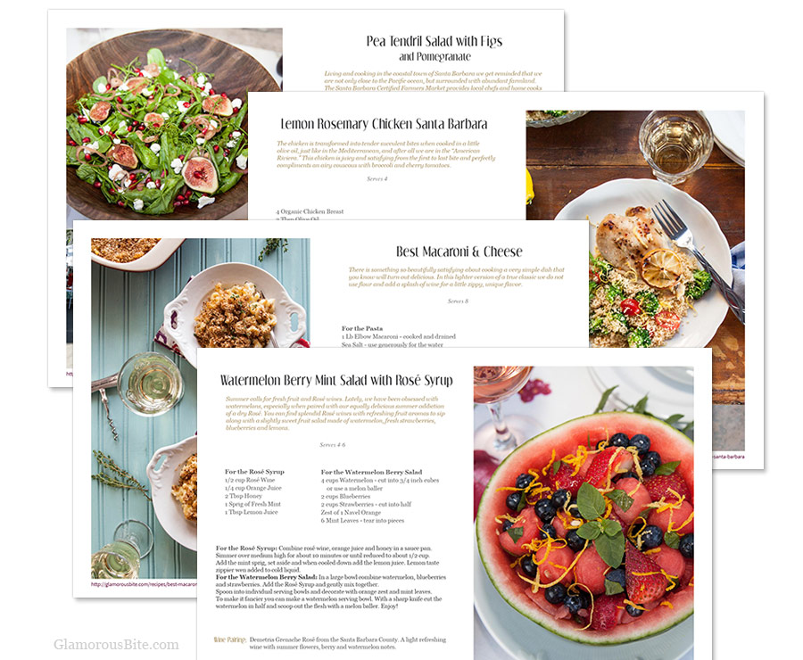eCookbook Recipes eBook