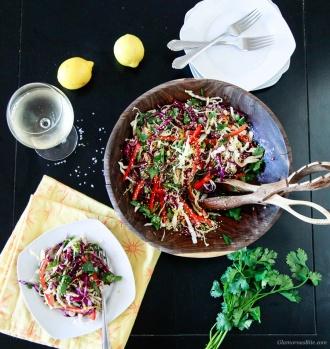 Asian Style Coleslaw Vegan