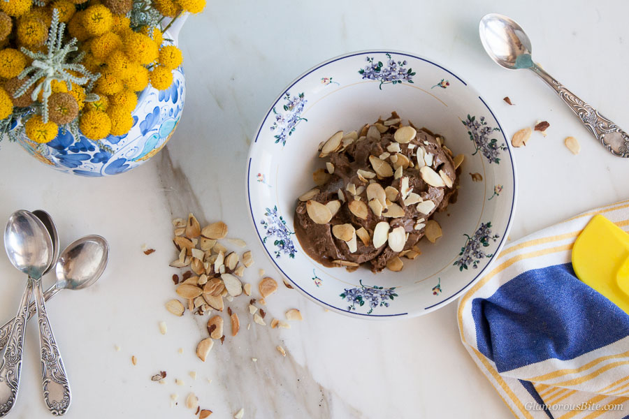 Chocolate Almond Gelato Dairy Free Recipe