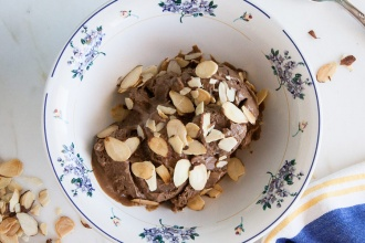 Chocolate Almond Gelato Recipe