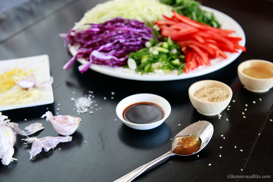 Honey Soy Sesame Mustard
