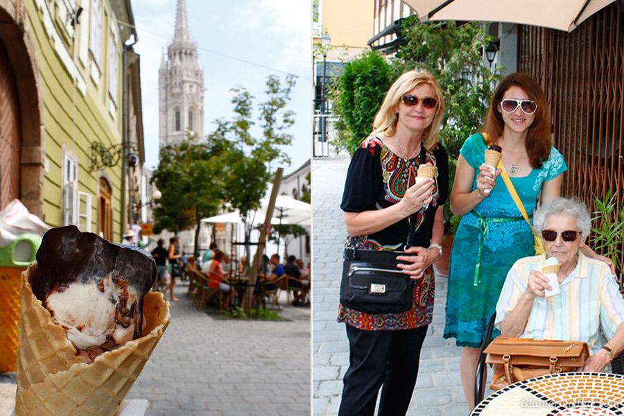 Judit Corina Gelato Budapest