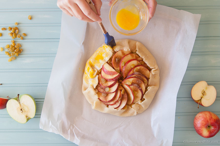 Apple Galette Egg