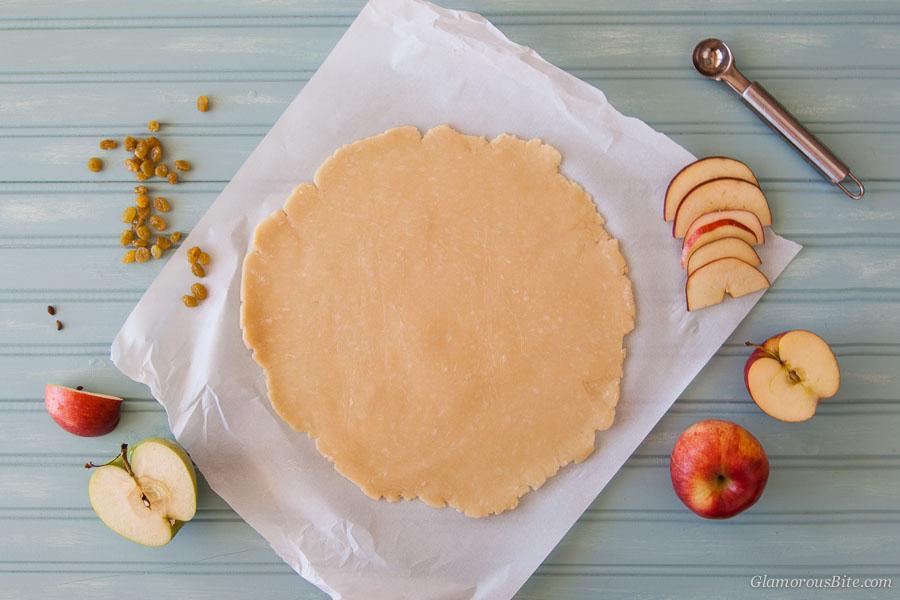Apple Galette Low-Carb Dough