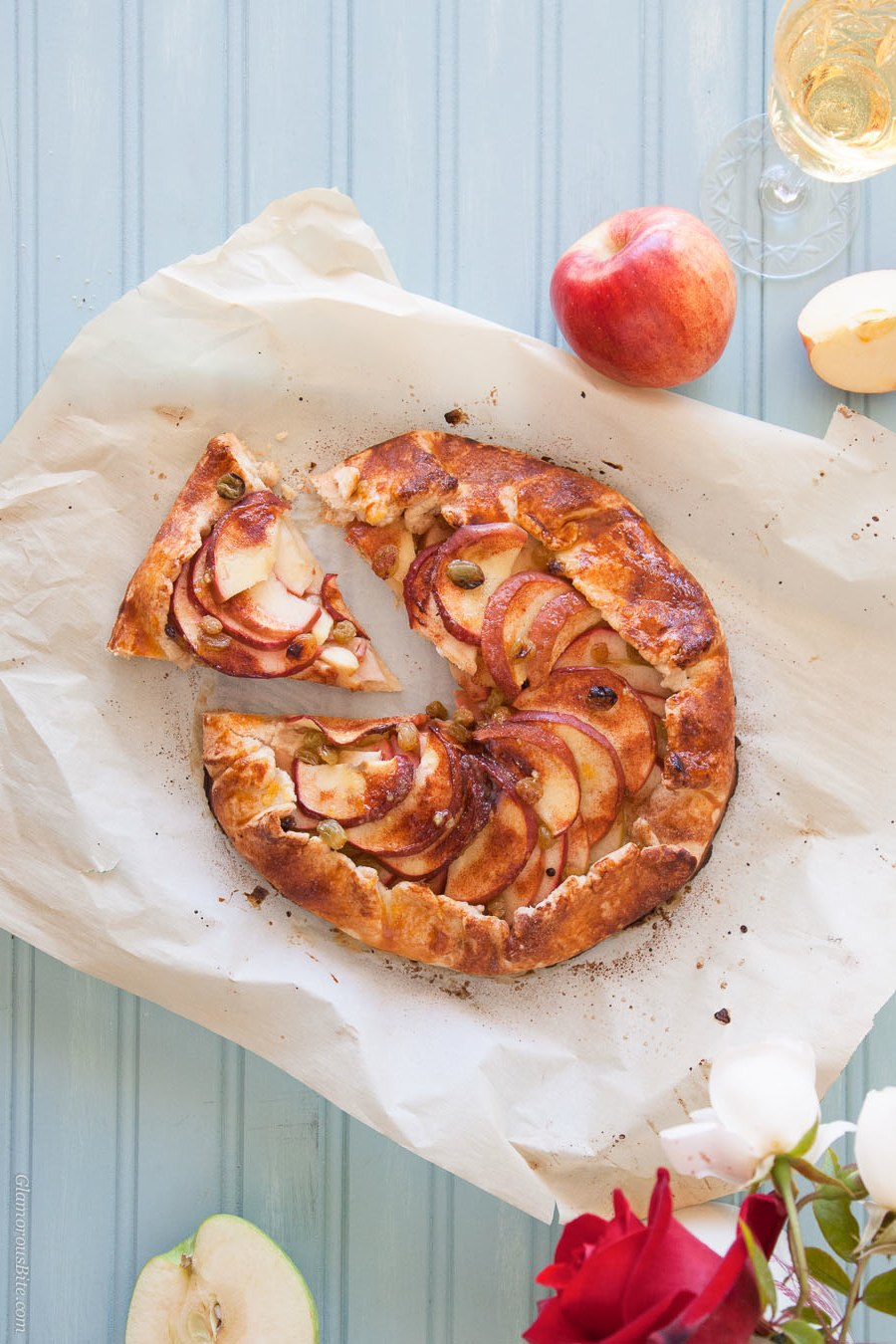 Apple Galette Low-Carb Recipe