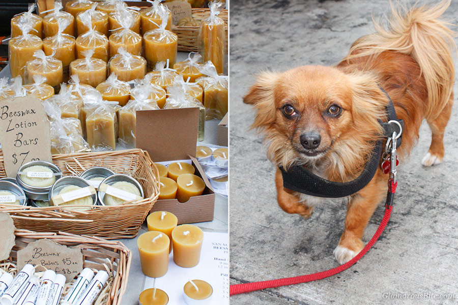 Farmers Market Beeswax Dog