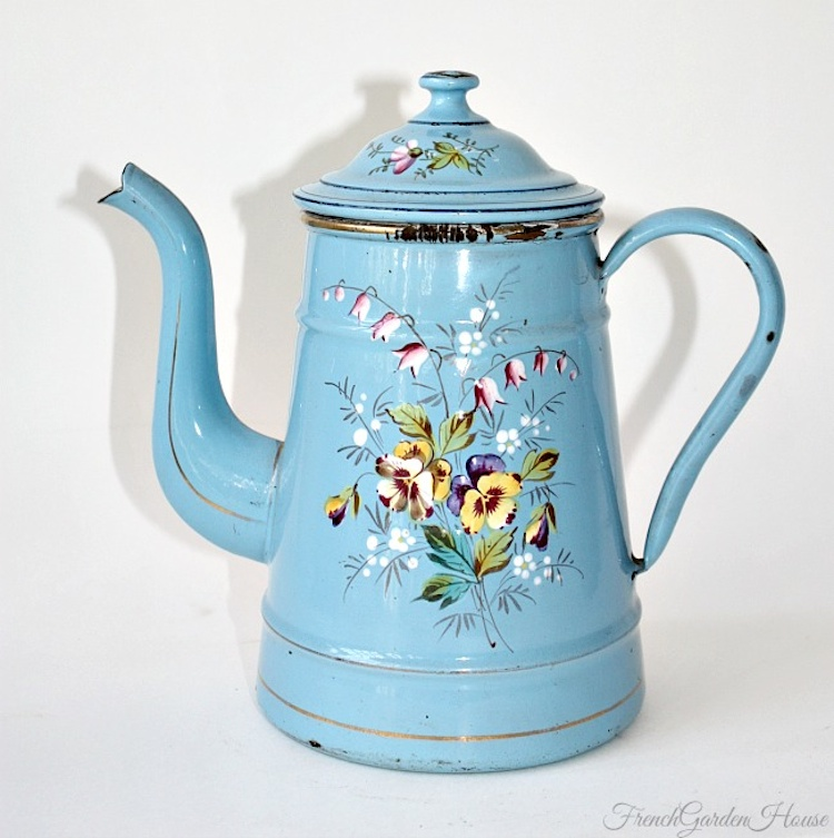 French Cafetiere Coffeepot FrenchGardenHouse