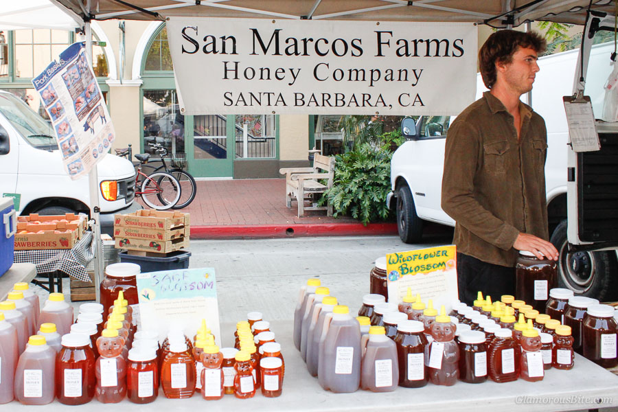 Santa Barbara Farmers Market Honey