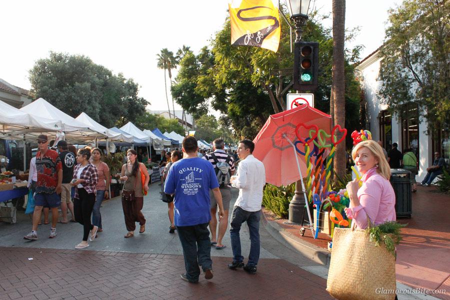 Santa Barbara Farmers Market Judit
