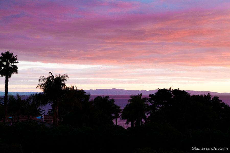 Santa Barbara Sunset Ocean