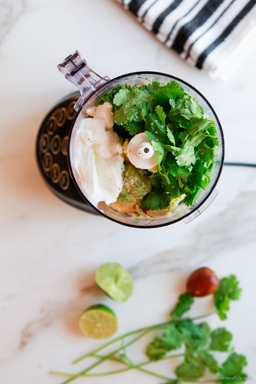 Avocado Crema lime cilantro yogurt